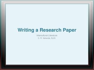 scholarly writing using apa and mla styles