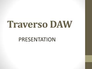 Traverso DAW