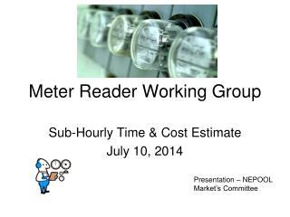 Meter Reader Working Group