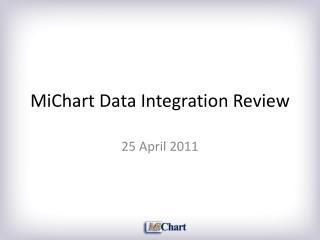 MiChart Data Integration Review