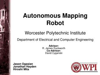 Autonomous Mapping Robot