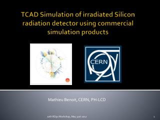 TCAD Simulation of  irradiated Silicon  radiation detector  using  commercial simulation  products