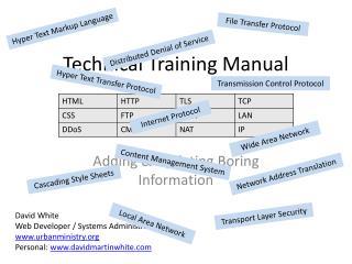 Technical Training Manual