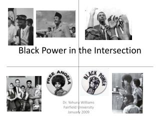 black power in the intersection
