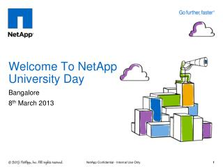 Welcome To NetApp University Day