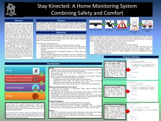 Stay Kinected: A Home Monitoring System  Combining Safety and Comfort