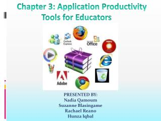 Chapter 3: Application Productivity Tools for Educators