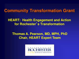 Community Transformation Grant