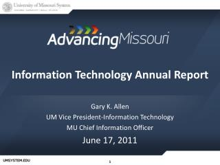 Information Technology Annual Report