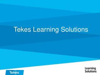 Tekes Learning Solutions