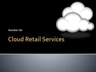 Cloud Retail Services