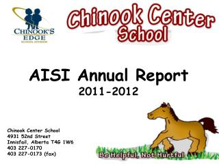 AISI Annual Report 2011-2012