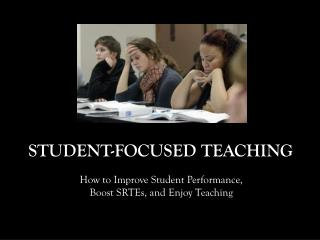 Student-Focused Teaching