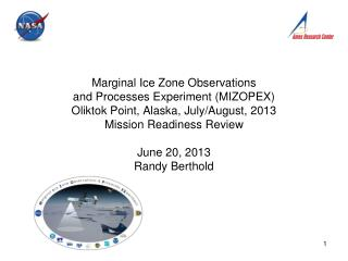 MRR Goal: Authority To Proceed Granted for the MIZOPEX Mission