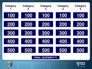 Download jeopardy templatewith video and image placeholders