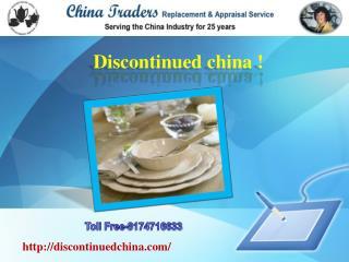 Noritake China Replacements