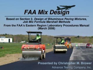FAA Mix Design