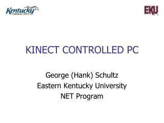 KINECT CONTROLLED PC