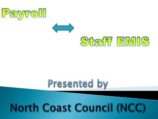 Payroll        Staff  EMIS