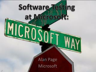 Alan Page Microsoft