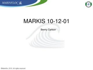 MARKIS 10-12-01