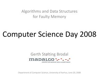 Computer Science Day 2008