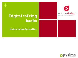 Digital  talking books listen  to books  online