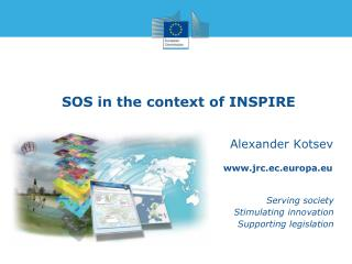 SOS in the context of INSPIRE