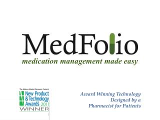 medication management made easy