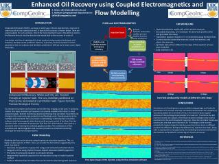 Enhanced  Oil  Recovery using Coupled Electromagnetics and Flow Modelling