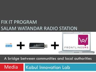 Fix It Program Salam Watandar Radio Station