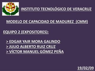 INSTITUTO TECNOLÓGICO DE VERACRUZ