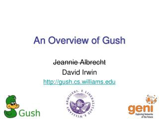 An  Overview of Gush