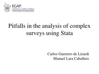 Pitfalls in the analysis of complex surveys using Stata