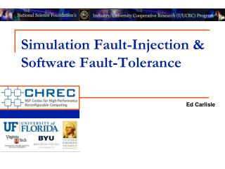 Simulation  Fault-Injection  & Software Fault-Tolerance