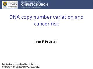 DNA copy number variation and cancer risk