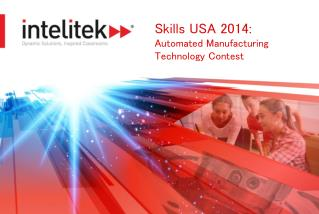 Skills USA 2014:  Automated Manufacturing Technology Contest