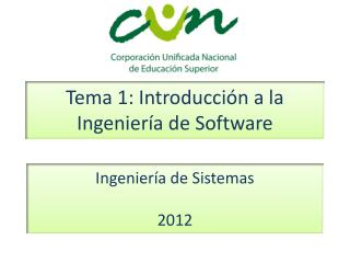 Tema  1:  Introducción  a la Ingeniería de Software