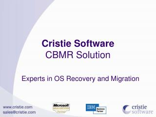 Experts in OS Recovery and Migration