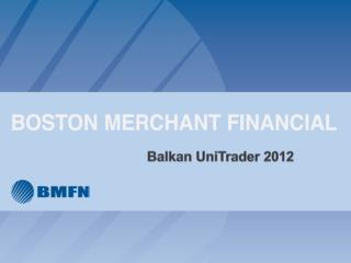 Balkan  UniTrader  2012