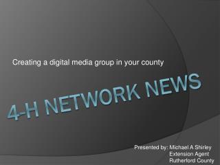 4-H Network News