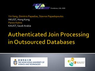 Authenticated Join Processing in Outsourced Databases