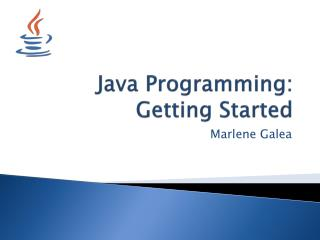 Java Programming: Getting Started