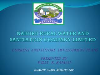 NAKURU RURAL WATER AND SANITATION COMPANY LIMITED