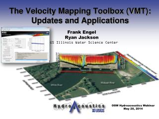 The Velocity Mapping Toolbox (VMT): Updates and Applications
