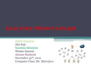 Local Area Network concept