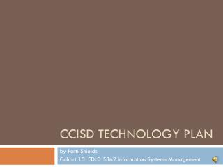 CCISD Technology Plan