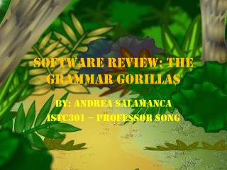 Software Review: The Grammar Gorillas