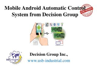Mobile Android Automatic Control System from Decision Group