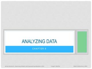 Analyzing data